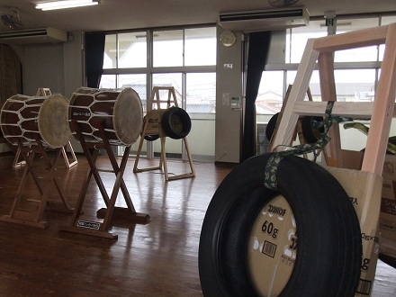 太鼓の講習会