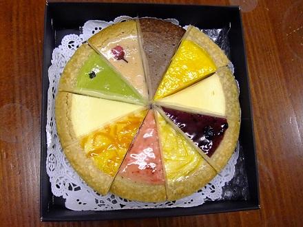 色とりどりのチーズケーキ♪