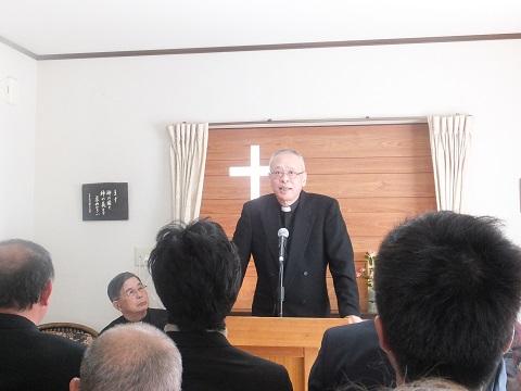 田崎牧師挨拶