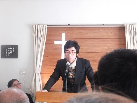 日本基督教団延岡城山教会 小糸健介師