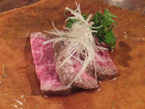 高千穂牛のローストビーフ
