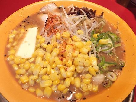 味噌チャーシューふつう+バターコーン