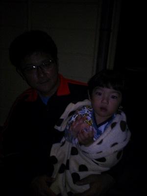 吉永さんと息子