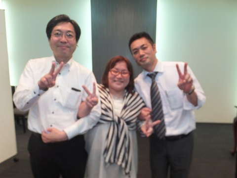 尾崎さんと谷口さんと